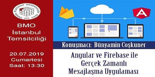 Angular ve Firebase ile Gerçek Zamanlı Mesajlama Uygulaması