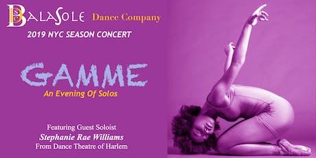 BalaSole Dance 2019 NYC Season With Guest Soloist Stephanie Rae Williams tickets