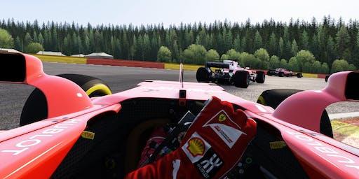 VR Sim Racing Weekend: Road to F1 package @ GOVR Cafe