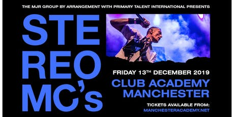 Stereo MC's tickets
