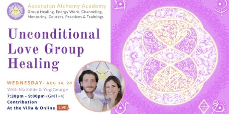 Unconditional Love Group Healing - Wednesday tickets