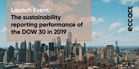 Launch event: The sustainability reporting performance of the DOW 30 tickets