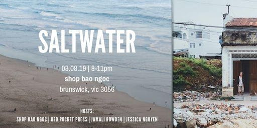 Saltwater: Curated Poetry and Degustation