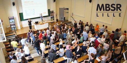 Conférence gratuite MBSR : Réduction du stress basée sur la pleine conscience 12 septembre 2019 à Lille.