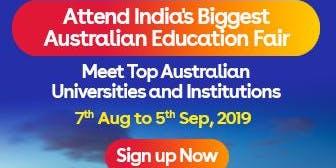 Apply to Australian universities at IDP's Free Australia Education Fair in Gurgaon – 7 Aug 2019 to 5 Sept 2019