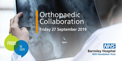 Barnsley Hospital Orthopaedic Collaboration Event