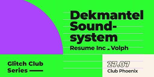 Glitch Club Series: Dekmantel Soundsystem