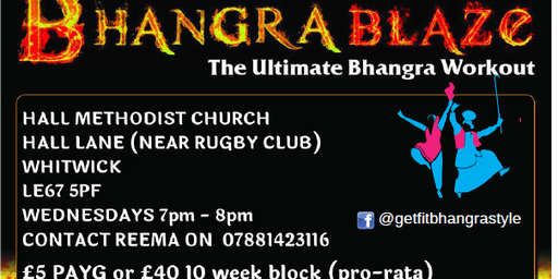 BhangraBlaze Fitness Whitwick