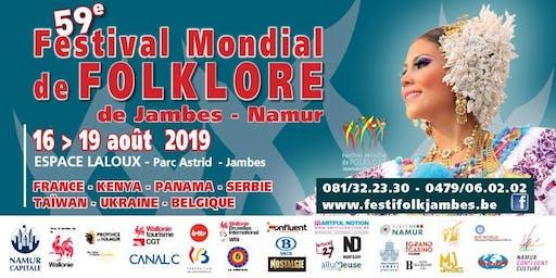 59ème Festival Mondial de Folklore de Jambes-Namur