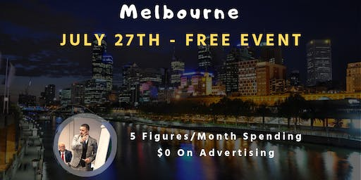 [Free Event] How To Do 5-figures/month Spending $0 On Advertising