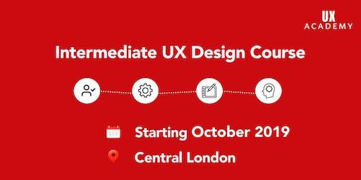 UX Academy - October 2019 - 6 Week Intermediate UX Course