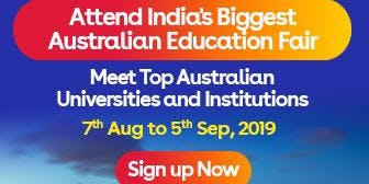 Apply to Australian universities at IDP's Free Australia Education Fair in Delhi – 7 Aug 2019 to 5 Sept 2019