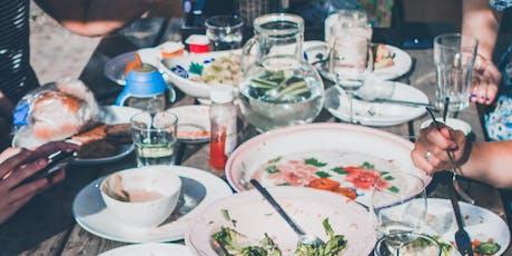 August Potluck dinner tickets