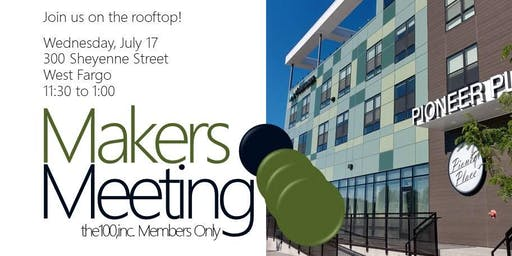 Makers Meeting: the100,inc. Members Only
