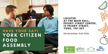 York Citizen Food Assembly tickets