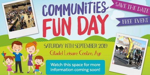 South Ayrshire Council Communities Fun Day 2019