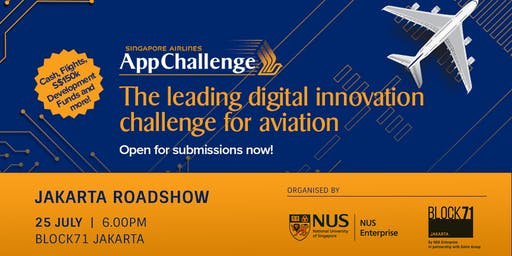 Singapore Airlines AppChallenge 2019 Roadshow Jakarta