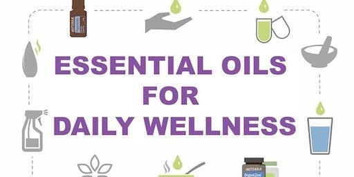 Essential Oils for Daily Wellness