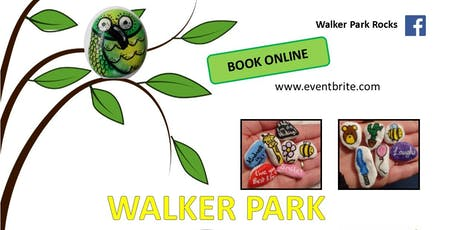Walker Park Rocks Painting Party - 12 August, 1pm to 3pm tickets