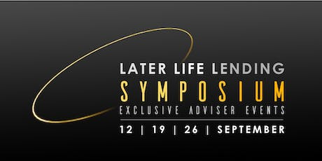 Later Life Lending Symposium (London) tickets