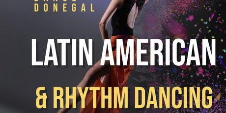 Latin American & Rhythm dancing  with Dance Donegal  tickets