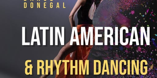 Latin American & Rhythm dancing  with Dance Donegal
