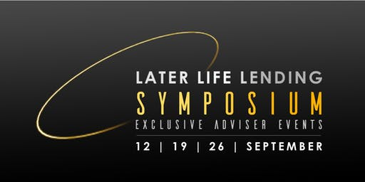 Later Life Lending Symposium (North)