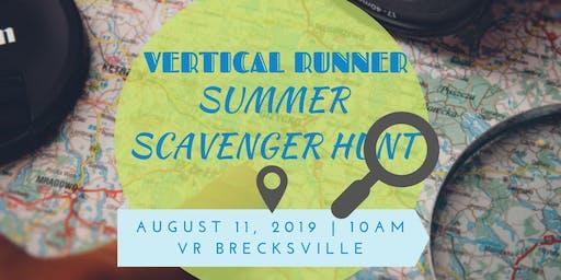 Vertical Runner Summer Scavenger Hunt