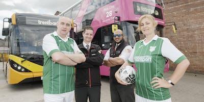 Nottingham City Transport vs trentbarton Charity Football Match