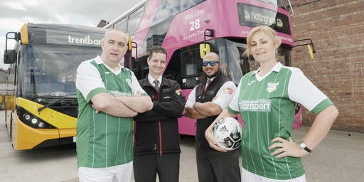 Nottingham City Transport vs trentbarton Charity Football Match