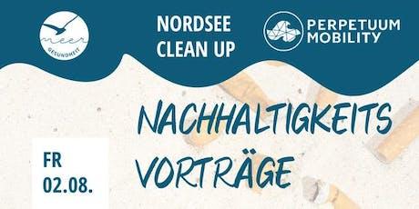Nordsee Clean Up - Nachhaltigkeitsvorträge tickets