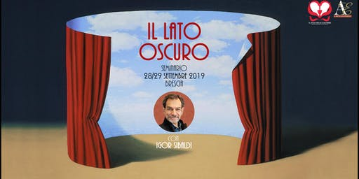 """Seminario """"Il Lato Oscuro"""" con Igor Sibaldi"""