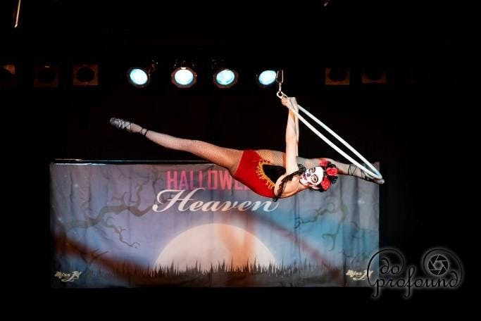 Halloween Heaven 2019 Lyra and Pole Competition