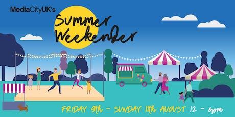 MediaCityUK Summer Weekender tickets