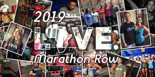 2019 LOVE. Marathon Row