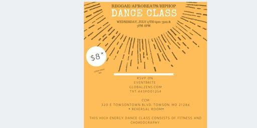 DANCE CLASS AFROBEATS/REGGAE