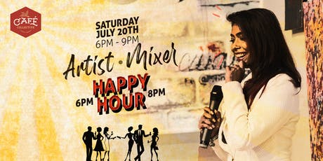 Artist Mixer - Happy Hour tickets
