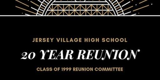 Jersey Village High School Class of 1999 20 Year Reunion