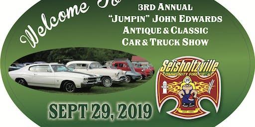 3rd Annual Jumpin John Edwards Antique & Classic Car & Truck Show