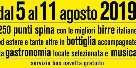 TAFKA LIVE @ Festival delle Birre Artigianali Castellalto biglietti
