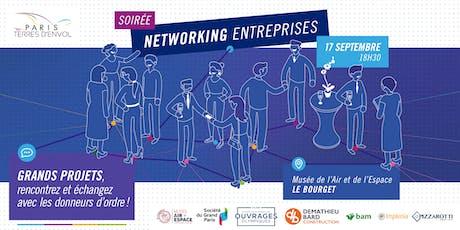 Soirée networking entreprises de Paris Terres d'Envol billets