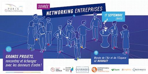Soirée networking entreprises de Paris Terres d'Envol