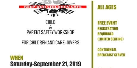 Parent Child & Senior Safety Workshop tickets