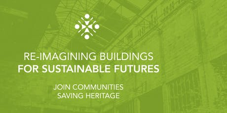 Re-imagining Buildings for Sustainable Futures tickets
