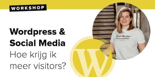 Workshop: WordPress & Social Media - hoe krijg ik meer visitors?