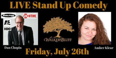 Stand Up Comedy at Walker's Bluff - Dan Chopin tickets