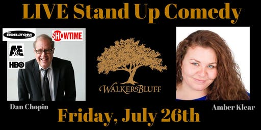 Stand Up Comedy at Walker's Bluff - Dan Chopin