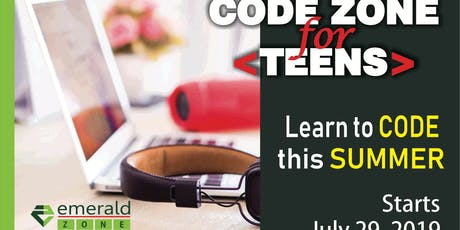 Summer Coding for Teenagers tickets