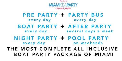 3HR ALL INCLUSIVE MIAMI BOAT PARTY