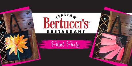 Bertucci's Paint Party Dinner tickets